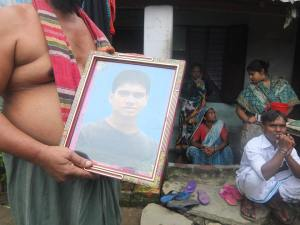 Three different families who lost their four earning members from Rana Plaza collapse last year.